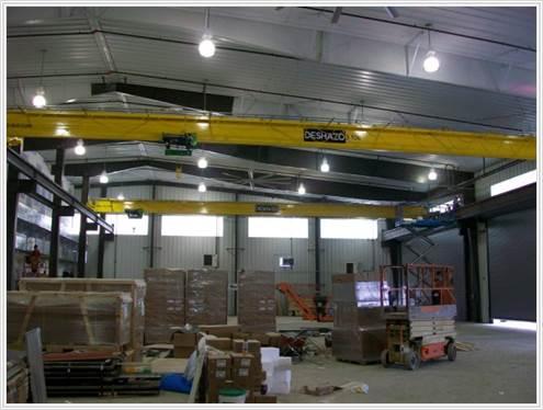 Industrial Facility, Shreveport, LA | Harrison Construction
