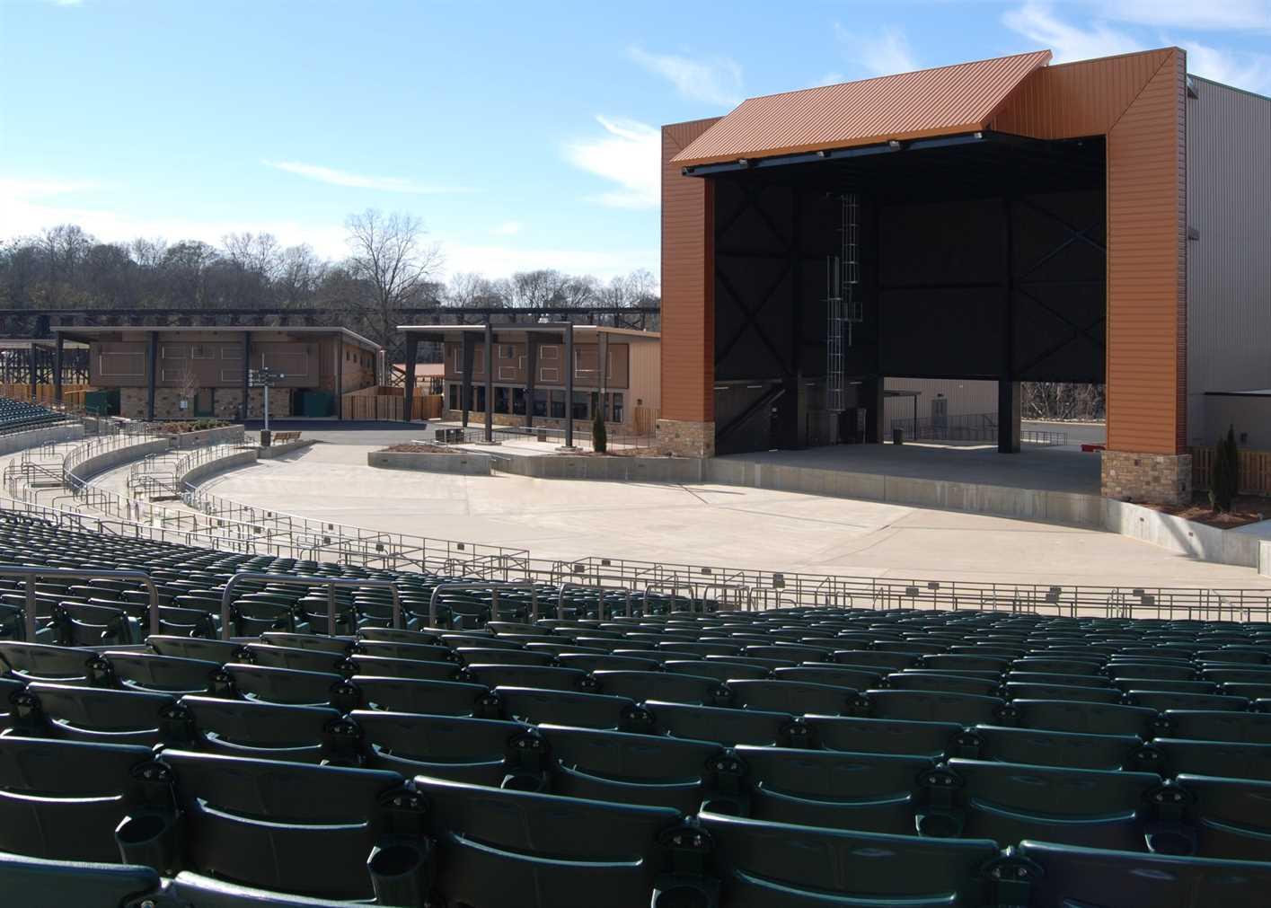 Tuscaloosa Amphitheater Harrison Construction